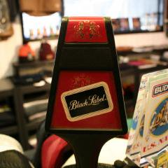 BEER SERVER KNOB ビア サーバー シフト ノブ CARLING'S BLACK LABEL