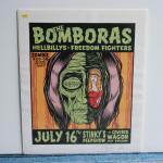 シルクスクリーンポスター | THE BOMBORAS | ALAN FORBES