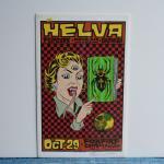 シルクスクリーンポスター | HELVA | ALAN FORBES