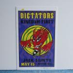 シルクスクリーンポスター | DICTATORS | ALAN FORBES