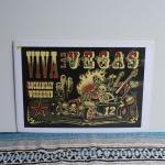 シルクスクリーンポスター | VIVA LAS VEGAS 12 | VINCE RAY