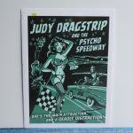 シルクスクリーンポスター | JUDY DRAGSTRIP | VINCE RAY