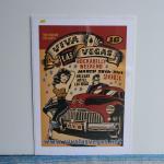シルクスクリーンポスター | VIVA LAS VEGAS 16 | VINCE RAY