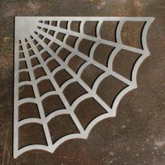 鉄製スパイダーウェブパネル