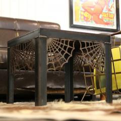 DESTROY & BUILD CLUB   オーダーメイド ファニチャー スチール 鉄製 テーブルSTEEL SPIDER LO-TABLE