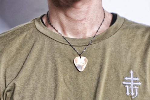 plectrum&cercle necklace