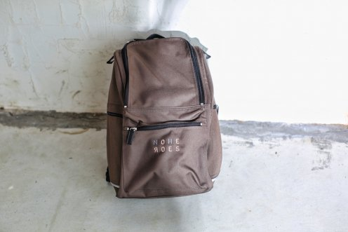 typograph backpack