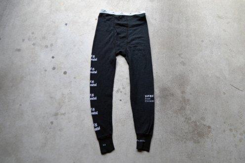 BLACK experimental thermal tights