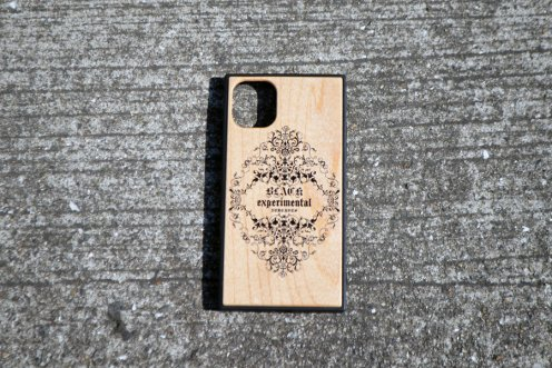 ornament logo Wood case