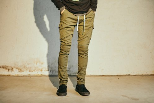UNBROKEN stretch cargo pants