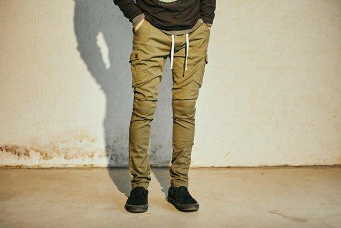 UNBROKEN stretch cargo pants