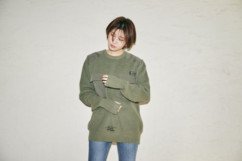 BE military cotton knit