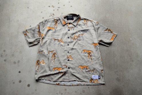 Tiger pattern big shirts