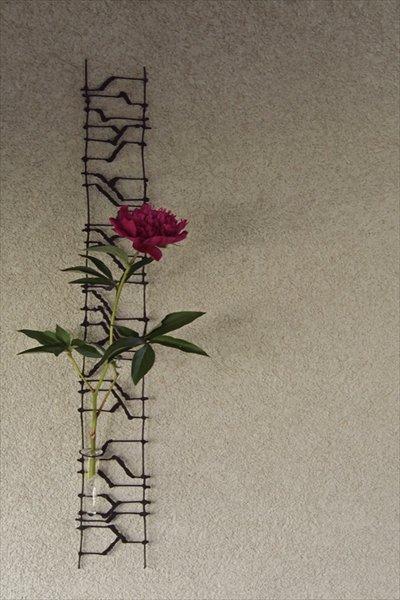 Newアイアン壁掛け花器 DAN