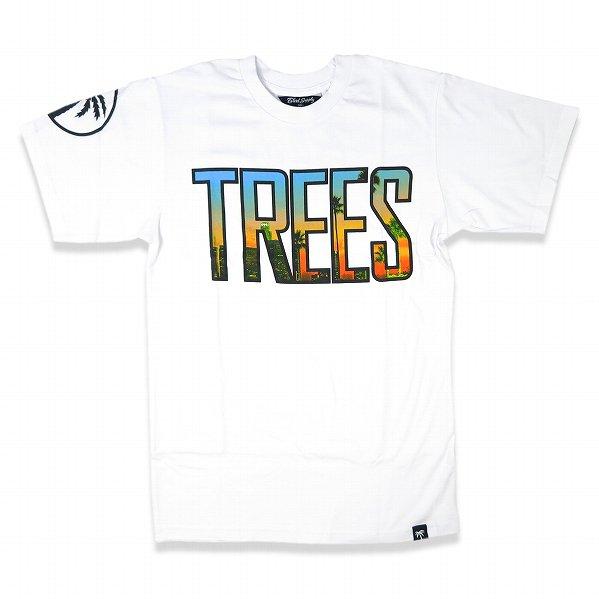 """BLVD SUPPLY ブルーバードサプライ 半袖 ロゴTシャツ ホワイト """"Trees 4 Tee"""""""