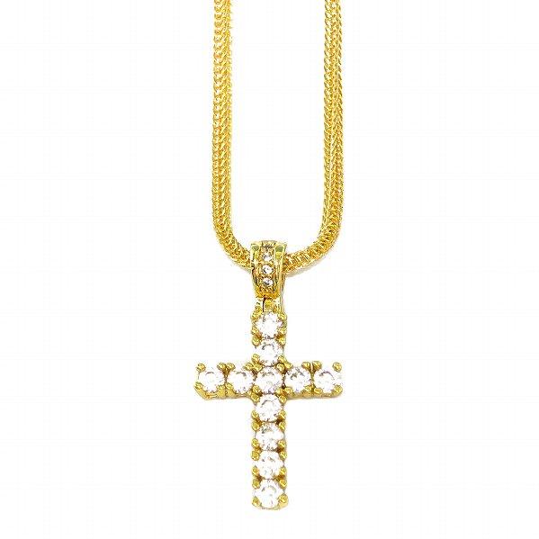 "Golden Gilt / Design by TSS ゴールデンギルト ミニクロス ネックレス ゴールド ""MINI CROSS"""