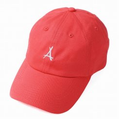 Tha Alumni Clothing アルムナイ ロゴ 6パネル ストラップバックキャップ インフラレッド
