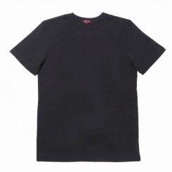 City Lab シティラブ 半袖 無地 クルーネック Tシャツ ブラック