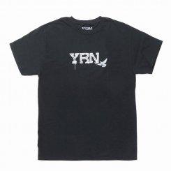 Yung Rich Nation ヤングリッチネーション 半袖 ロゴTシャツ ブラック
