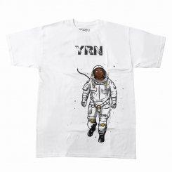 Yung Rich Nation ヤングリッチネーション 半袖 ロゴTシャツ ホワイト
