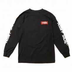 Yung Rich Nation ヤングリッチネーション 長袖 ロゴTシャツ ブラック