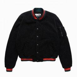 FNTY フライングナインティ  フリースボア ボンバージャケット ブラック