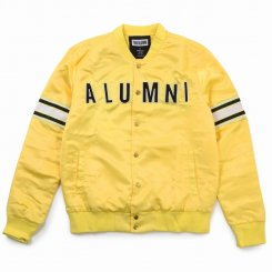 <img class='new_mark_img1' src='https://img.shop-pro.jp/img/new/icons15.gif' style='border:none;display:inline;margin:0px;padding:0px;width:auto;' />Tha Alumni Clothing アルムナイ ロゴ ベースボールジャケット イエロー