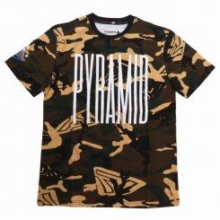 Black Pyramid ブラックピラミッド 半袖 ロゴTシャツ カモ