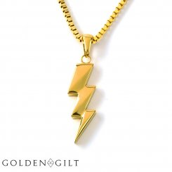 Golden Gilt / Design By TSS ゴールデンギルト フラッシュボルト ネックレス ゴールド