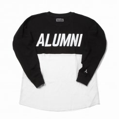 <img class='new_mark_img1' src='https://img.shop-pro.jp/img/new/icons20.gif' style='border:none;display:inline;margin:0px;padding:0px;width:auto;' />Tha Alumni Clothing アルムナイ 長袖 ロゴTシャツ ホワイト×ブラック