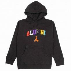 Tha Alumni Clothing アルムナイ ロゴ プルオーバー スウェットパーカー ブラック