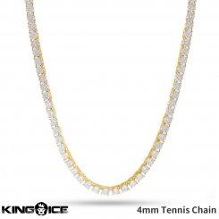 King Ice キングアイス ネックレス ゴールド テニスチェーン