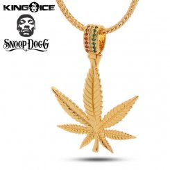 King Ice×Designed by Snoop Dogg キングアイス スヌープドッグ デザイン ネックレス ゴールド