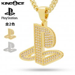 <img class='new_mark_img1' src='https://img.shop-pro.jp/img/new/icons55.gif' style='border:none;display:inline;margin:0px;padding:0px;width:auto;' />King Ice×PlayStation キングアイス プレイステーション ネックレス
