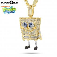 King Ice×SpongeBob SquarePants キングアイス スポンジ・ボブ ネックレス ゴールド