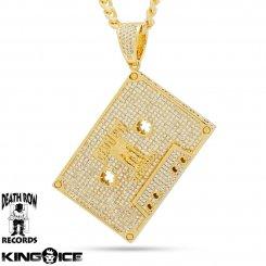 King Ice×Death Row Records キングアイス×デスロウレコード ネックレス ゴールド