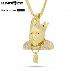 King Ice×Notorious B.I.G. キングアイス×ノトーリアス B.I.G. ネックレス ゴールド