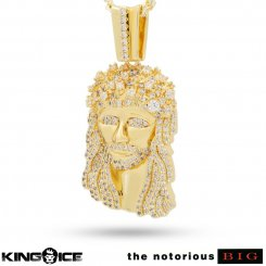 <img class='new_mark_img1' src='https://img.shop-pro.jp/img/new/icons55.gif' style='border:none;display:inline;margin:0px;padding:0px;width:auto;' />King Ice×Notorious B.I.G. キングアイス×ノトーリアス B.I.G. ネックレス ゴールド