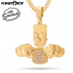 King Ice×The Simpsons キングアイス シンプソンズ ネックレス ゴールド