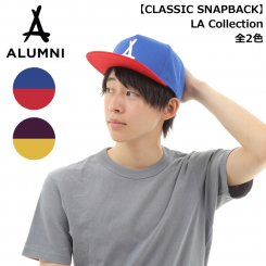 <img class='new_mark_img1' src='https://img.shop-pro.jp/img/new/icons15.gif' style='border:none;display:inline;margin:0px;padding:0px;width:auto;' />Tha Alumni Clothing アルムナイ アラムナイ ロゴ スナップバックキャップ フラットバイザー