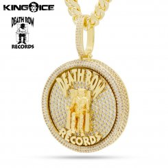 <img class='new_mark_img1' src='https://img.shop-pro.jp/img/new/icons15.gif' style='border:none;display:inline;margin:0px;padding:0px;width:auto;' />King Ice×Death Row Records キングアイス×デスロウレコード ネックレス ゴールド