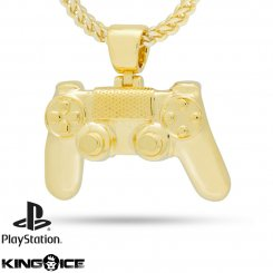 King Ice×PlayStation キングアイス プレイステーション ネックレス ゴールド