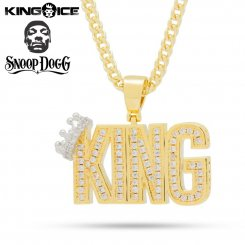 <img class='new_mark_img1' src='https://img.shop-pro.jp/img/new/icons55.gif' style='border:none;display:inline;margin:0px;padding:0px;width:auto;' />Snoop Dogg×King Ice キングアイス スヌープドッグ ネックレス ゴールド