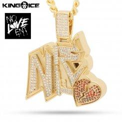 King Ice×NLE Choppa キングアイス ネックレス ゴールド