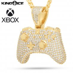 Xbox×King Ice キングアイス エックスボックス コントローラー ネックレス ゴールド Controller Necklace