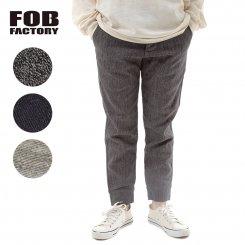 FOB FACTORY エフオービーファクトリー リラックスデニム スウェットパンツ 日本製 F0403 F404 RELAX SWEAT PANTS