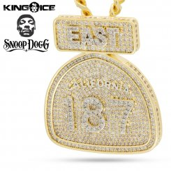 <img class='new_mark_img1' src='https://img.shop-pro.jp/img/new/icons15.gif' style='border:none;display:inline;margin:0px;padding:0px;width:auto;' />Snoop Dogg×King Ice キングアイス スヌープドッグ ネックレス ゴールド 187 DEEP COVER NECKLACE