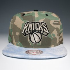 <img class='new_mark_img1' src='https://img.shop-pro.jp/img/new/icons20.gif' style='border:none;display:inline;margin:0px;padding:0px;width:auto;' />Mitchell & Ness スナップバックキャップ ニックス カモ×ブルーデニム