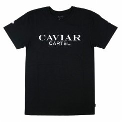 <img class='new_mark_img1' src='https://img.shop-pro.jp/img/new/icons20.gif' style='border:none;display:inline;margin:0px;padding:0px;width:auto;' />CAVIAR CARTEL at SSUR 半袖 ロゴTシャツ ブラック