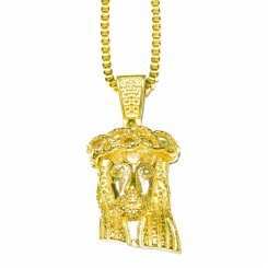 Golden Gilt / Design by TSS ゴールデンギルト ジーザス ネックレス ゴールド